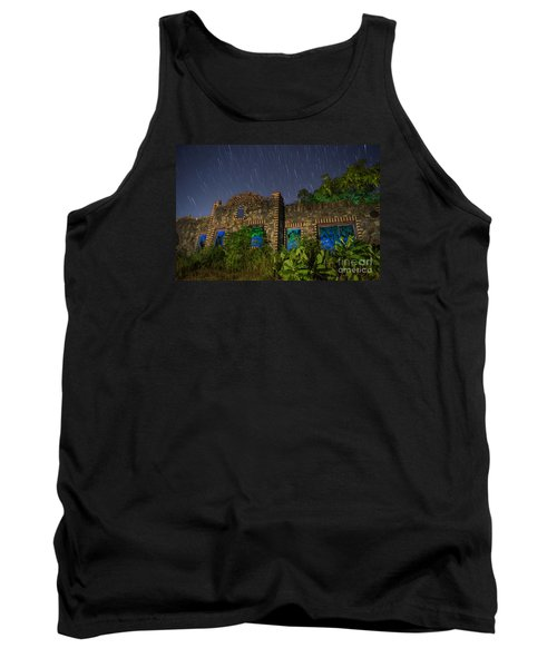 Tank Top featuring the photograph Abandoned Outlaw Gas Station II by Keith Kapple
