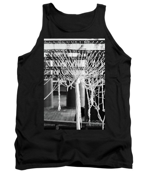 Abandoned Textile Mill, Lewiston, Maine  -48692-bw Tank Top by John Bald