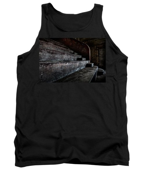 Abandoned Theatre Steps - Architectual Heritage Tank Top by Dirk Ercken
