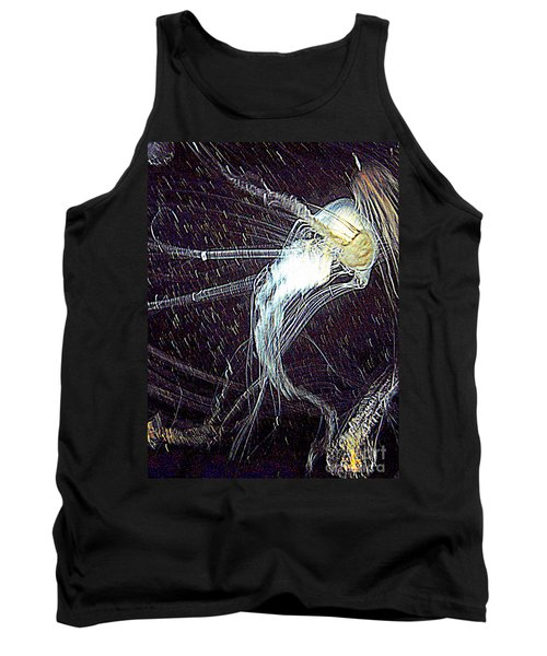 Tank Top featuring the photograph Aberration Of Jelly Fish In Rhapsody Series 2 by Antonia Citrino