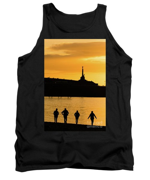 Aberystwyth Sunset Silhouettes Tank Top