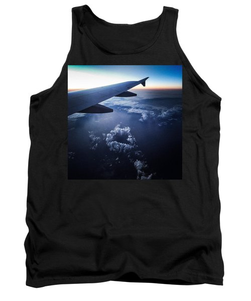 Above The Clouds 02 Heart Cloud Tank Top
