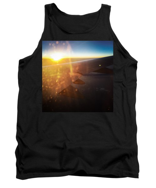 Above The Clouds 03 Warm Sunlight Tank Top