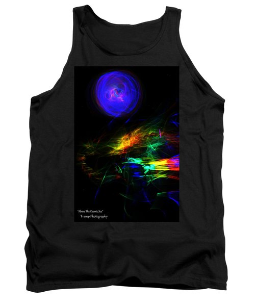 Above The Cosmic Sea Tank Top