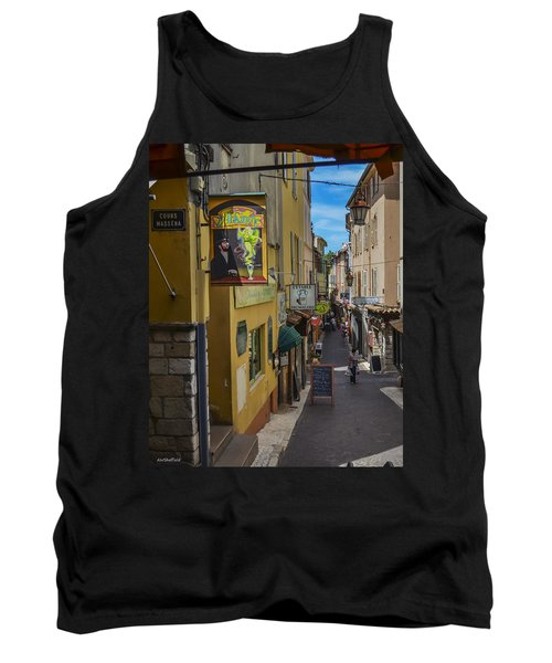 Tank Top featuring the photograph Absinthe In Antibes by Allen Sheffield