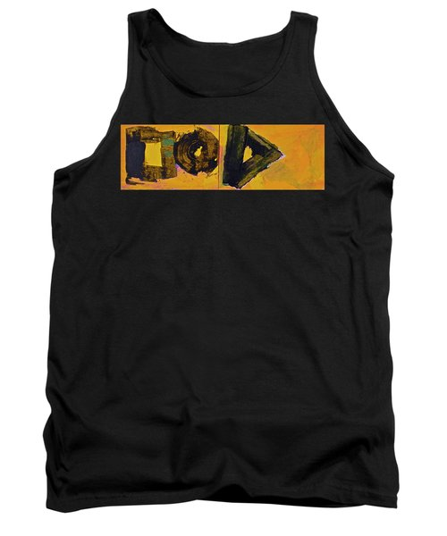 Abstract 2071-diptych Tank Top by Cliff Spohn