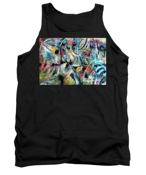 Abstract 301 - Encaustic Tank Top