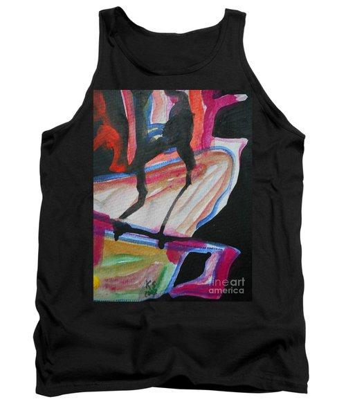 Abstract-5 Tank Top