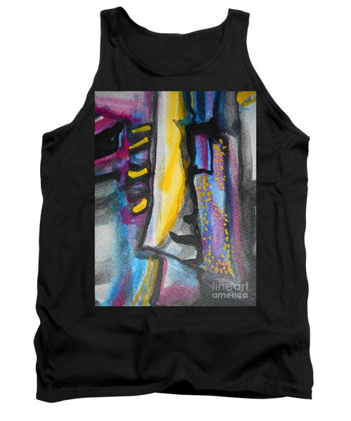 Abstract-8 Tank Top