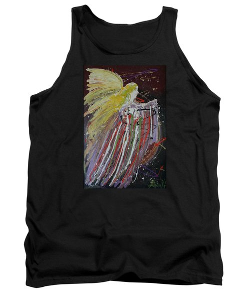 Abstract Angel Tank Top
