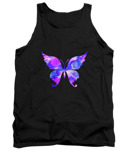 Abstract Butterfly Tank Top