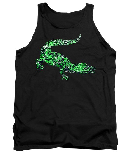 Abstract Crocodile Tank Top