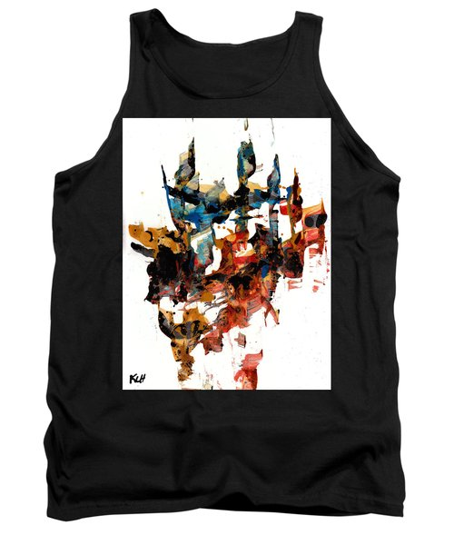 Abstract Expressionism Painting Series 750.102910 Tank Top by Kris Haas