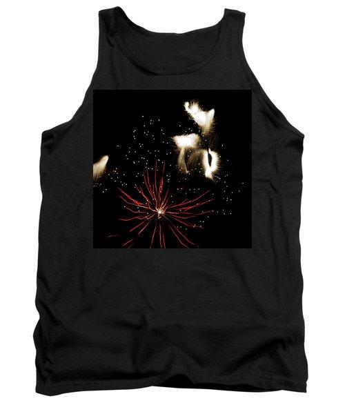 Abstract Fireworks IIi Tank Top