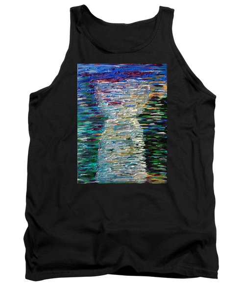 Abstract Latte Stone Tank Top