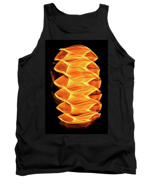 Abstract Light Number 2 Tank Top