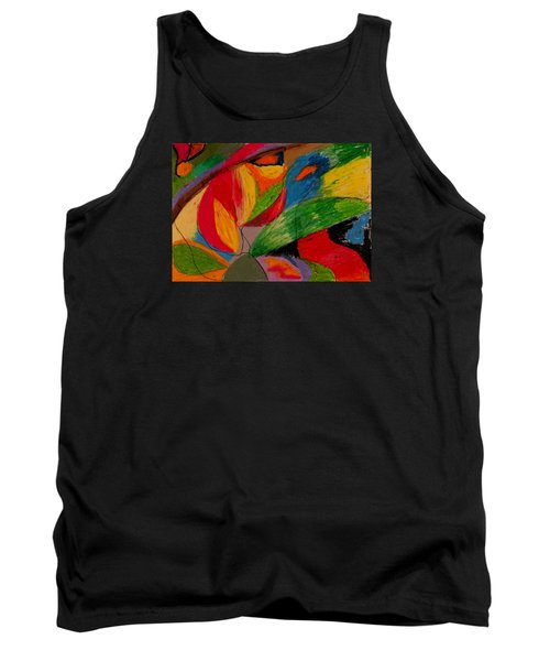 Abstract No. 5 Springtime Tank Top