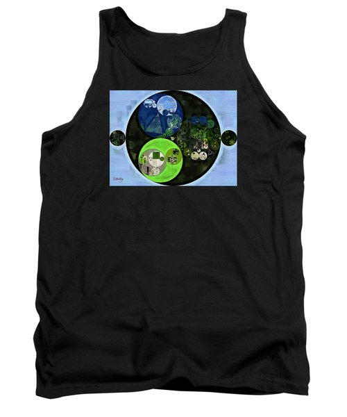 Abstract Painting - Asparagus Tank Top by Vitaliy Gladkiy