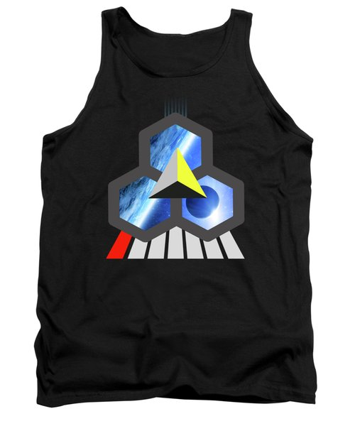 Abstract Space 1 Tank Top by Russell K