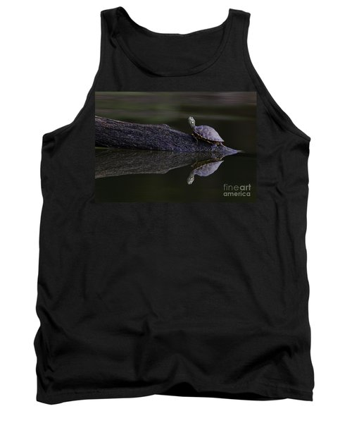 Tank Top featuring the photograph Abstract Turtle by Douglas Stucky