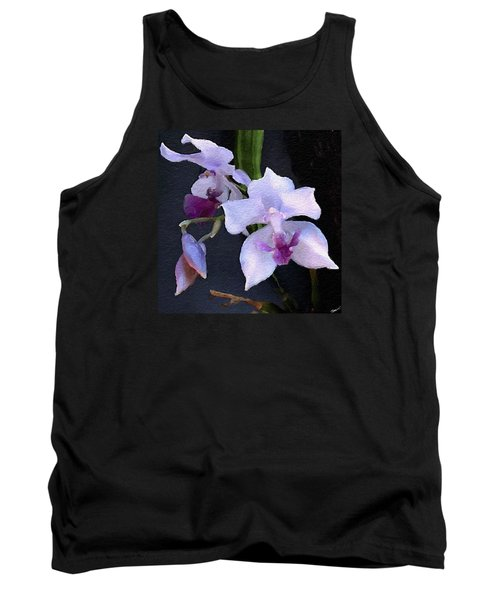 Acacallis Cyanea. Orchid Tank Top