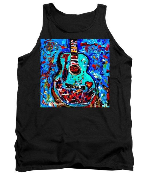 Acoustic Love Guitar Tank Top