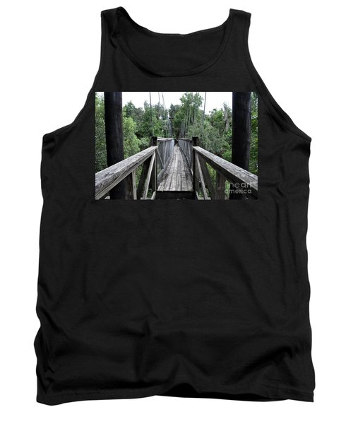Tank Top featuring the photograph Across The Great Divide by John Black