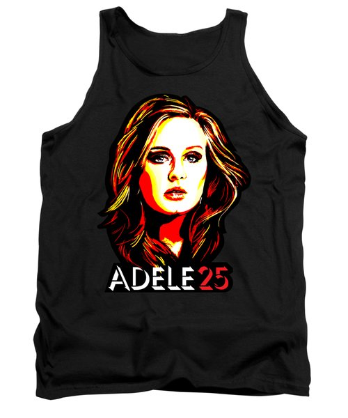Adele 25-1 Tank Top by Tim Gilliland
