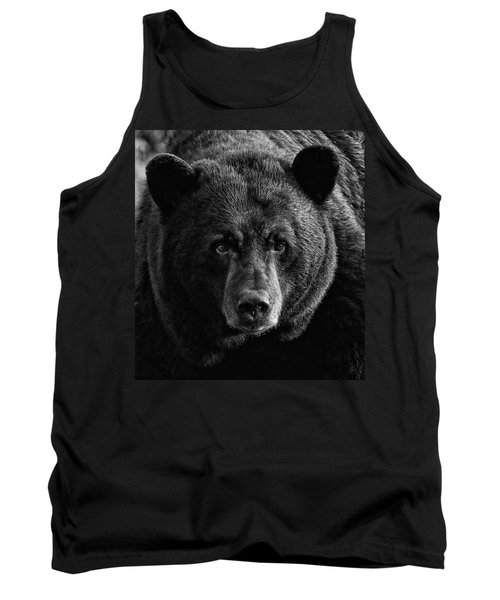 Adult Male Black Bear Tank Top by Coby Cooper