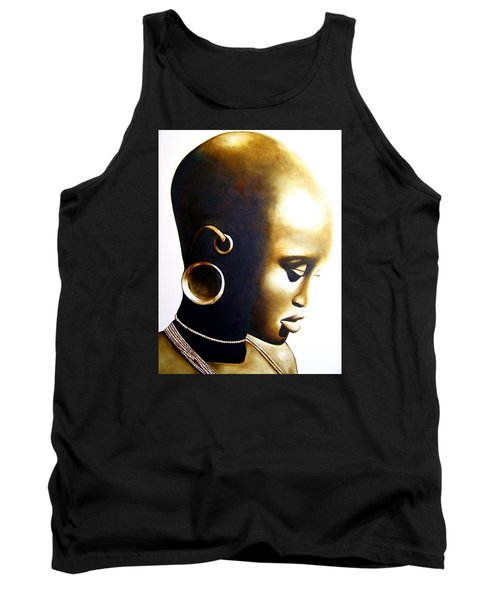 African Lady - Original Artwork Tank Top