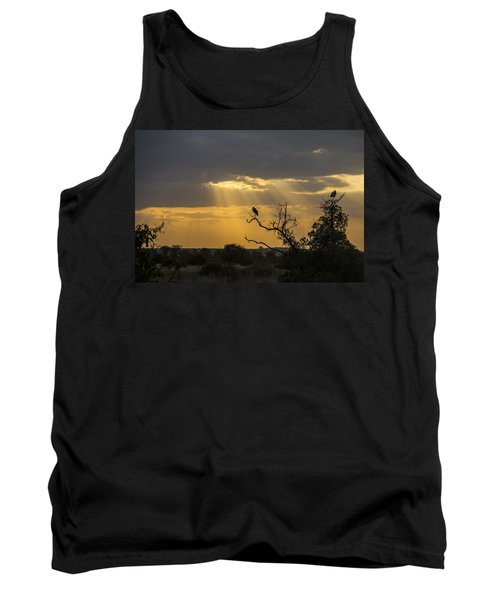 African Sunset 2 Tank Top