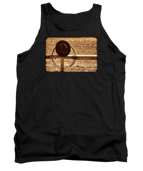 After The Drive Tank Top by American West Legend By Olivier Le Queinec