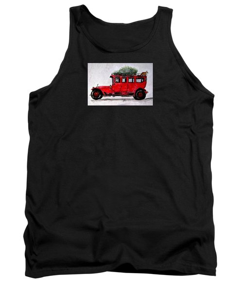 After The Fox Tally Ho Ho Ho Tank Top