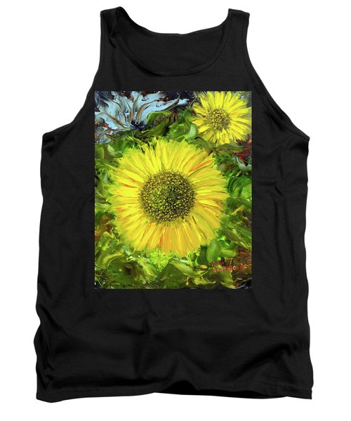 Afternoon Sunflowers Tank Top