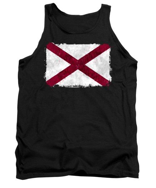 Alabama Flag Tank Top