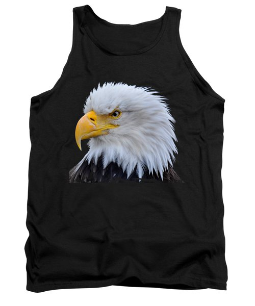 Tank Top featuring the photograph Alaskan Bald Eagle by Diane E Berry