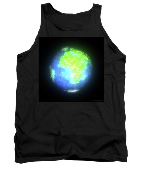 Albedo - Africa And Europe By Day Tank Top