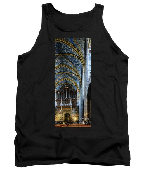 Albi Cathedral Nave Tank Top