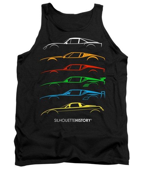 Alejandro's Sports Car  Silhouettehistory Tank Top