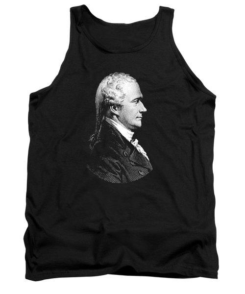 Alexander Hamilton Portrait Tank Top