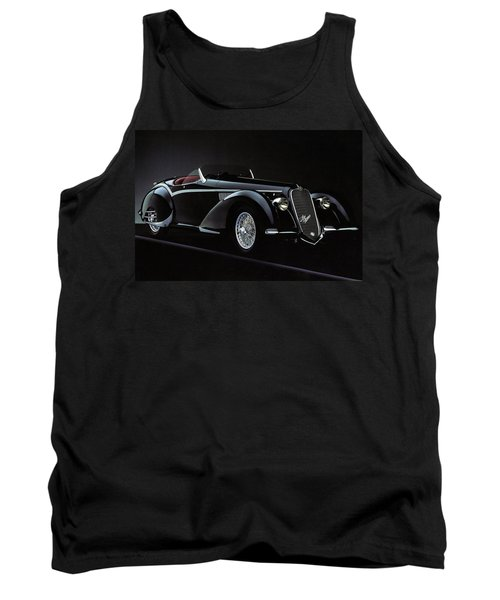 Alfa Romeo 8c 2900 Mercedes Benz Tank Top