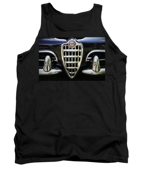 Alfa Romeo Tank Top by Dennis Hedberg