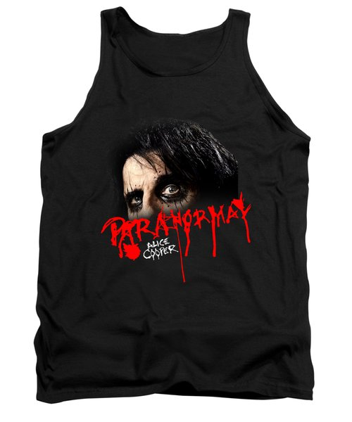 Alice Cooper Paranormal Face Tank Top