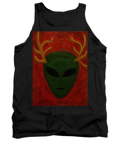 Alien Deer Tank Top