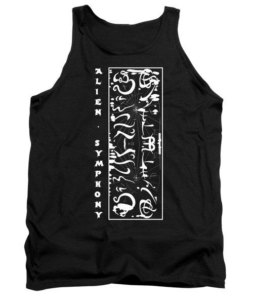Alien Symphony T Shirt Tank Top by Robert G Kernodle