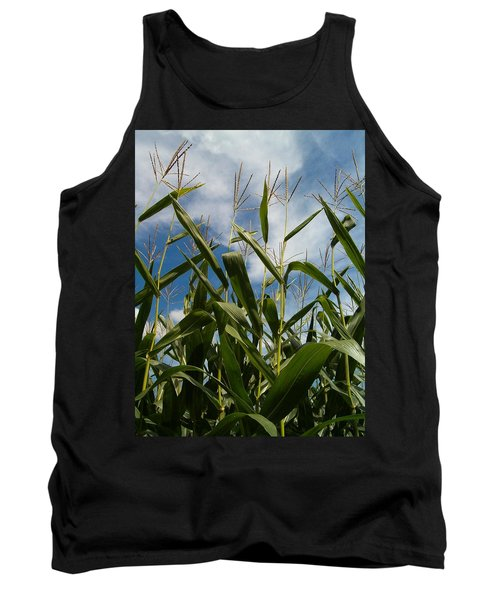 All About Corn Tank Top by Sara  Raber