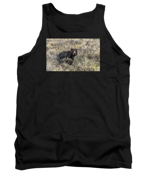 Tank Top featuring the photograph All Alone by Yeates Photography