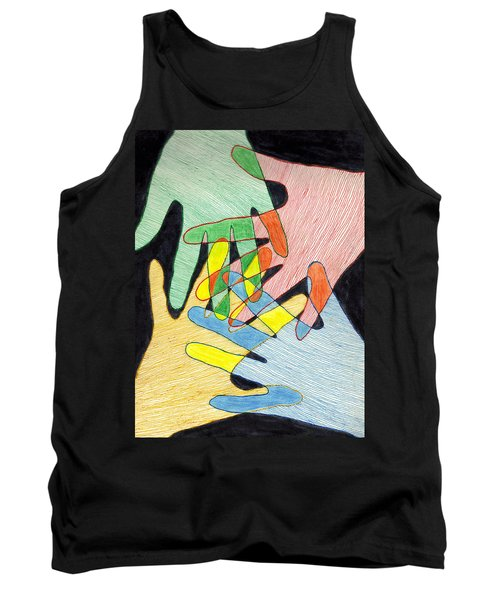 All In Tank Top by Jean Haynes