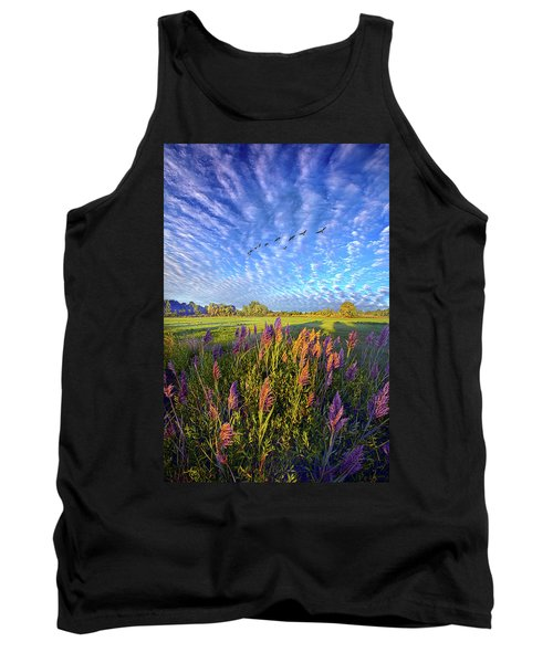 All Things Created And Held Together Tank Top