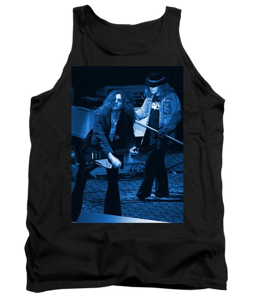 Allen Collins And Ronnie Van Zant Same Old Winterland Blues Tank Top